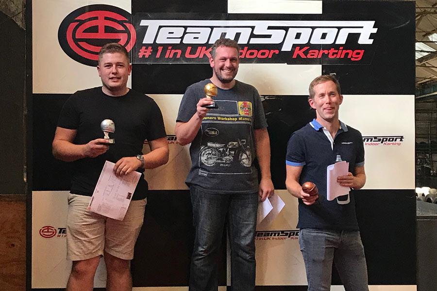 Team 1 Race Winners