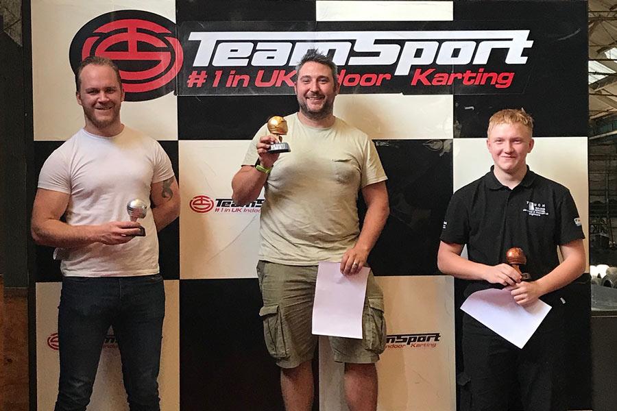 Team 2 Race Winners!