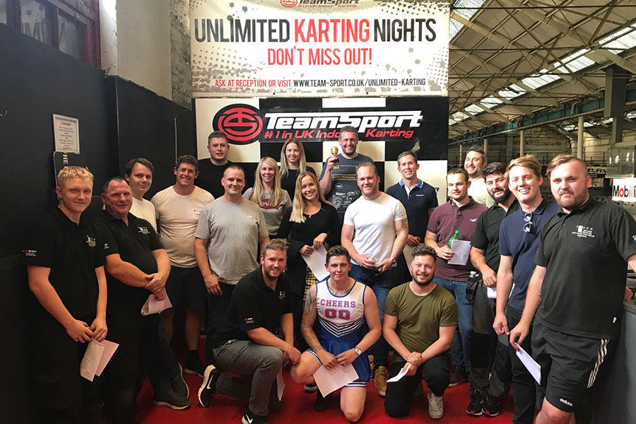 Team Building Karting Event