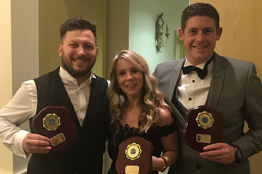 2018 Clubman of the Year, Best Newcomer, Apprentice of The Year