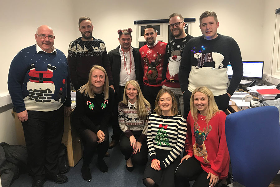 Christmas Jumper Day at Touch