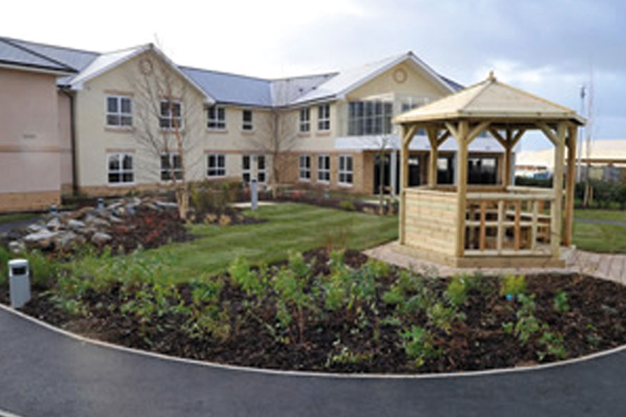 Plymouth Care Home Building Services Project