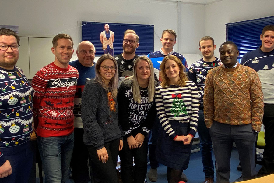 Touch Xmas Jumper Day 2019
